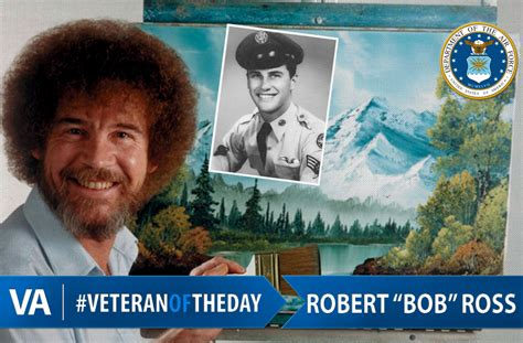 #veteranoftheday Air Force Veteran Bob Ross