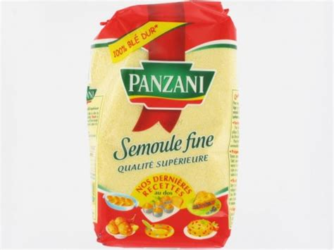 cuisine à domicile semoule panzani 500 grs farines semoules proxilivre