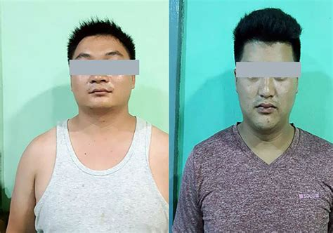Chinese Nationals Arrested in Waingmaw For 'Running Shops ...