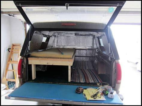 insulated truck bed reflectix camper wiz