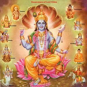 Vishnu - Dasha Avatar -Ten Incarnations
