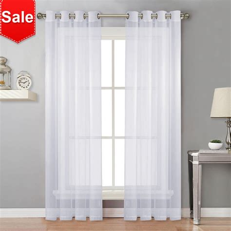 Sheer Drapes by Sheer Curtains For Living Room