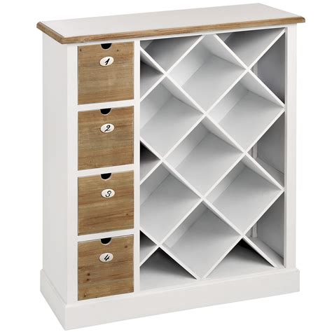 wine rack storage cabinet shaker white wooden wine storage cabinet