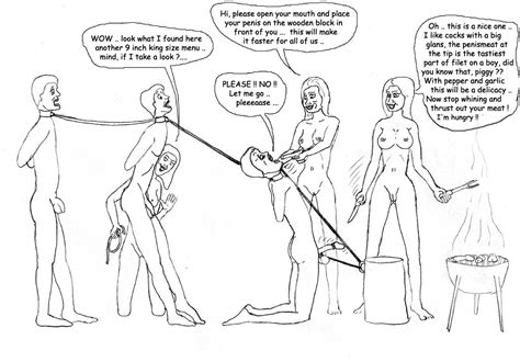 Castration Cartoons - PornHugo.Com