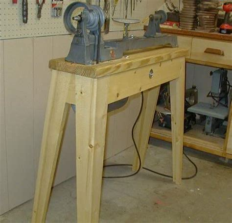 ipad wood lathe stand plans easy  follow   build  diy woodworking projects