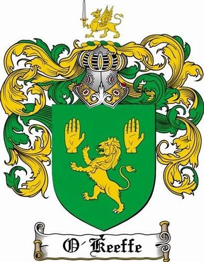 Crest Arms Coat Crandall Keeffe Irish History