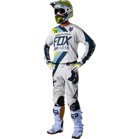 fox motocross gear 2018 fox racing 360 draftr gear kit light grey sixstar