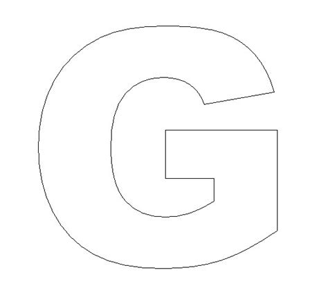 letter g template letter g crafts preschool and kindergarten