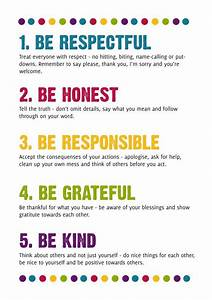 25 best ideas about house rules chart on pinterest With house rules chart template