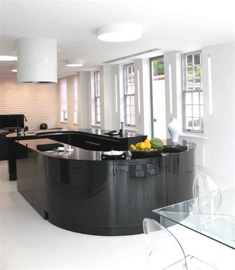 kitchen with accessories high end residential contemporary kitchen 6545