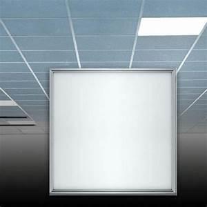Dalle Pour Plafond : dalle led pour faux plafond 600x600 mm arlux ~ Edinachiropracticcenter.com Idées de Décoration