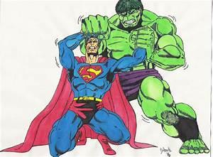 Superman vs Hulk by TyndallsQuest on DeviantArt