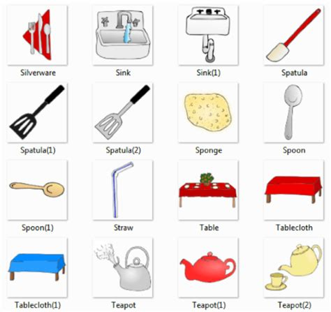 Kitchen Accessories With Names by Kitchen Pictures And List Of Kitchen Utensils With Picture