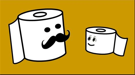 cartoon rolls life purpose of a toilet paper roll funny cartoon