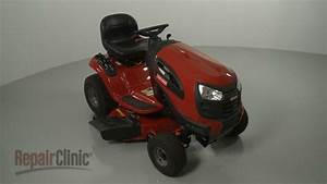 Craftsman Riding Lawn Mower Disassembly  Repair Help
