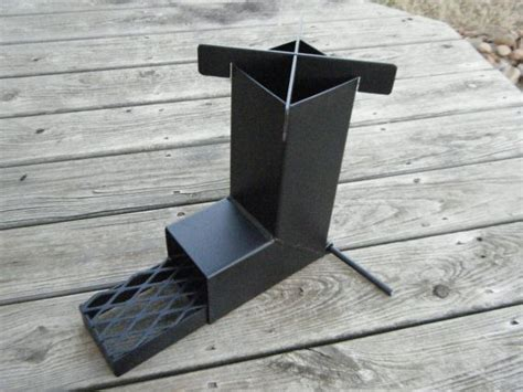 rocket stove  camping hunting prepper scouts survival