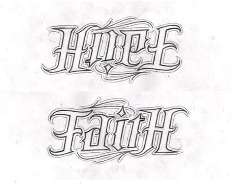 ambigram tattoos design  ideas