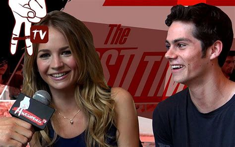 dylan o brien engaged britt robertson and dylan o brien rumored to be engaged