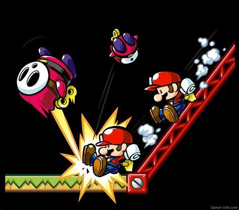 Mario Vs Donkey Kong Mini Land Mayhem 2010 Video Game