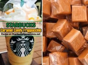 Starbucks Caramel Candy Frappuccino | Starbucks Secret Menu