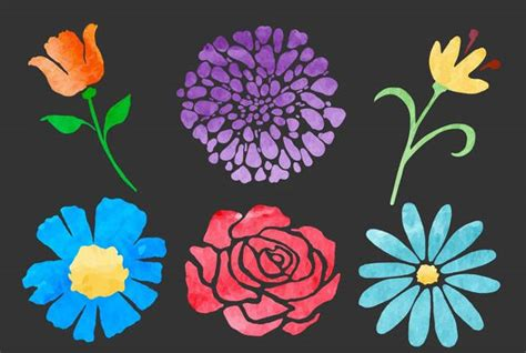 flower vectors eps png jpg svg design trends