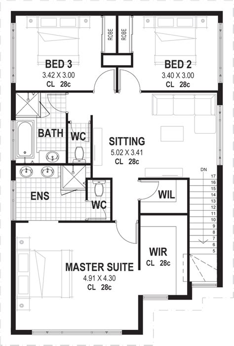 5 Bedroom House Plans Nsw by 3 Bedroom House Plans Designs Perth Novus Homes