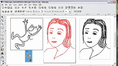 This xml based file extension supports animation that can contains vector. Have Inkscape Trace It - YouTube