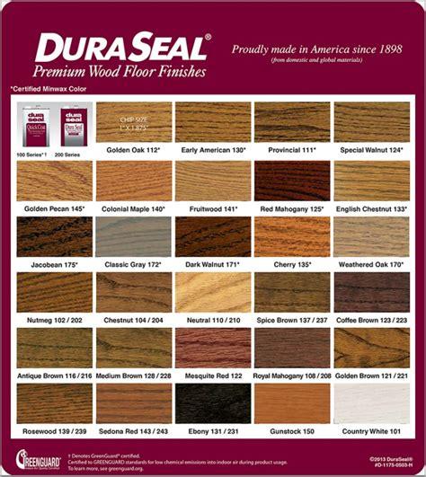 duraseal colors choosing the right wood floor heartland wood floors