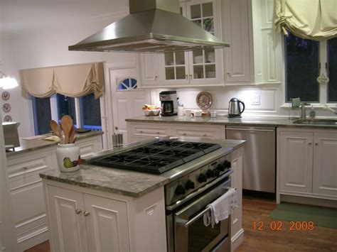 kitchen island with range slide in range in island search for the home