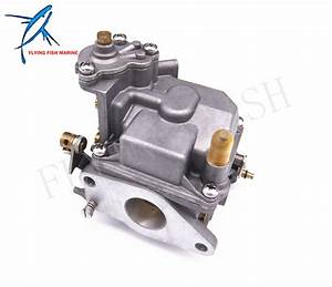 Boat Motor 66m 14301 12 00 Carburetor Assy For Yamaha 4 Stroke 15hp F15 Electric Start Outboard