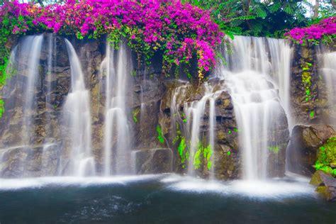 waterfall inspired wallpaper designs
