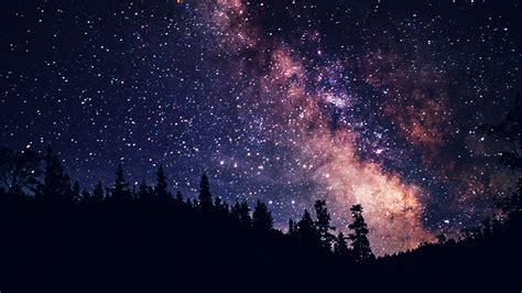 Mx08 Night Sky Dark Space Milkyway Star Nature