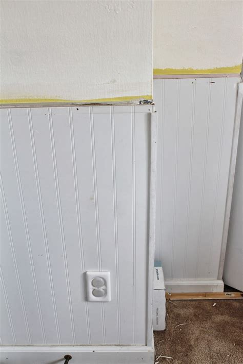 working bad beadboard installation job house