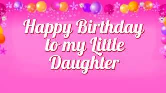 Happy Birthday My Daughter