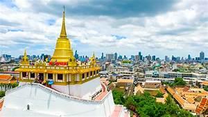 Wat Saket in Bangkok the Golden Mount and the Center Thai ...