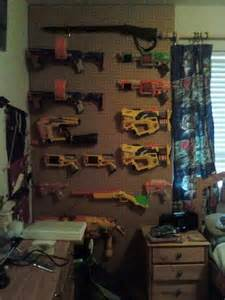 Nerf Gun Storage Ideas