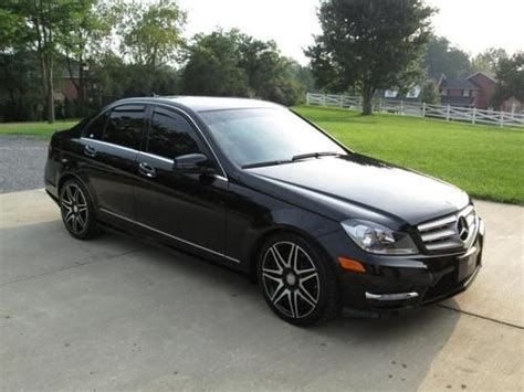 Sell Used 2013 Mercedes Benz C300 Sport Sedan 4matic Amg