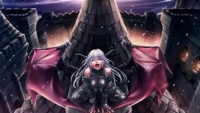 Demon Wings Devil Hair Demons Night Roof