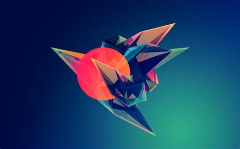 Abstract Justin Maller Wallpaper by Geometry Artwork Abstract Justin Maller Facets Co