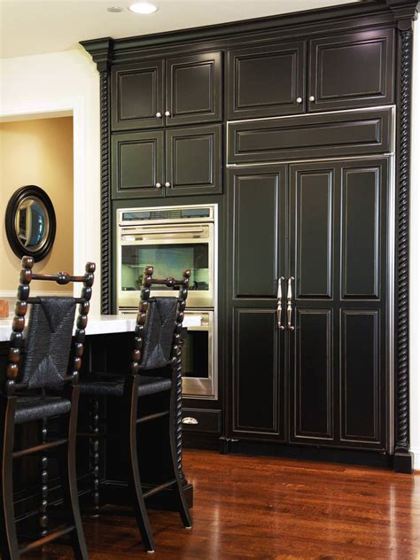 black kitchen cabinet designs decorating ideas