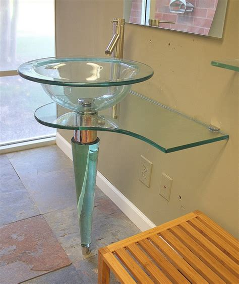 Glass Bathroom Sinks And Vanities by Bathroom Exciting Bathroom Vanity Design With Cheap