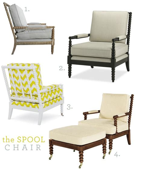 the spool chair decor cecy j