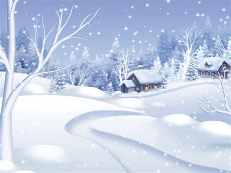 Winter Snow Animated Wallpaper - morning snowfall animated wallpaper snowfall animated