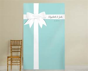 Personalized Tiffany Blue Photo Backdrop - Tiffany Style ...