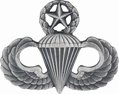 Master Parachutist Military Army Insignia