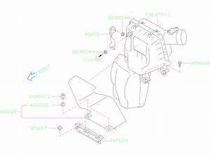 2019 Subaru Forester 2 5l Cvt Base Premium Engine Air