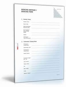 Rechnung Formulieren Dienstleistung : booking anfrage deutsch englisch vorlage zum download ~ Themetempest.com Abrechnung