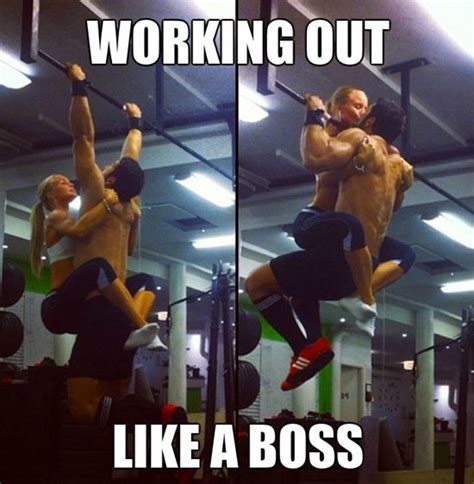 Working Out Meme - working out like a boss lol pinterest like a boss gym and memes