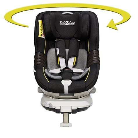 siege auto isofix groupe 0 1 siège auto pivotant 360 39 the one 39 gold edition isofix