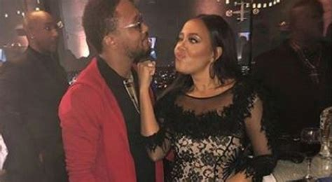 Angela Simmons And Romeo Miller Were Looking Flirty At The